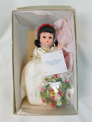 Madame Alexander Snow White's Wedding Baby Doll Complete & Mint in Box MIB