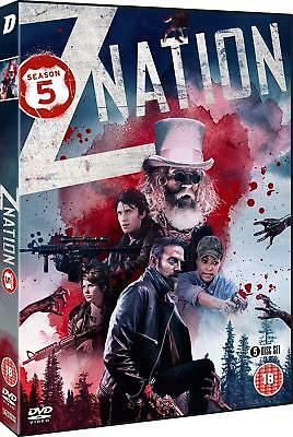 Z NATION 5 (2018): FINAL Zombie Apocalypse TV Season Series -  Rg2 DVD not US
