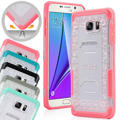 Slim Hybrid Hard Case Rugged Defender ULAK Bumper Cover for Samsung Galaxy Note5