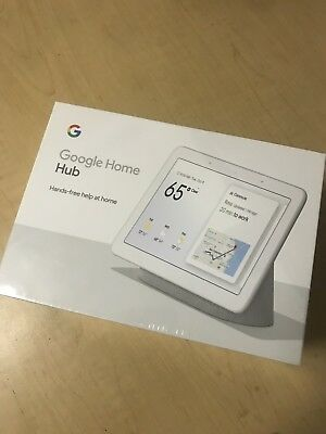 Google Home Hub with Google Assistant (GA00515-US) - Pearl Snow White