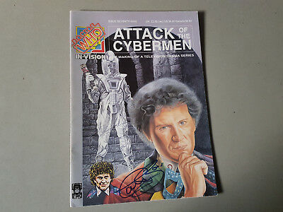 DOCTOR WHO IN-VISION MAGAZINE No. 79 - 1988 - signed by Colin Baker