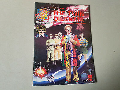 DOCTOR WHO IN-VISION MAGAZINE No. 77 - 1988 - signed by Colin Baker
