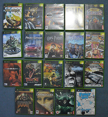 EIGHTEEN Various Xbox Games Hours Of Fun!