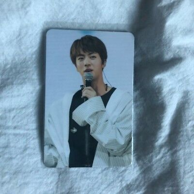 BTS The Wings Tour 2017 Live Trilogy Episode in Seoul Official Photo Card Jin