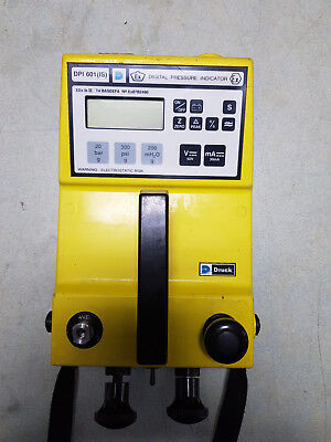 Druck DP601 (IS) Pressure Indicator, 2 bar / 30 PSI with Calibration Certificate