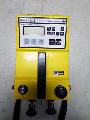 Druck DP601 (IS) Pressure Indicator, 20 bar/290 PSI with Calibration Certificate