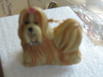 #Chic #Shih Tzu #Sherratt and Simpson Figurine  89207