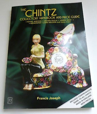 Chintz collectors handbook and price guide  PAPERBACK POTTERY REFERENCE BOOK