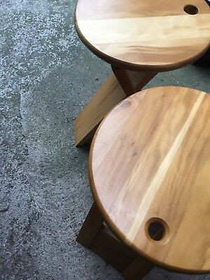 Pair of a Vintage Suzy Stool By Adrian Reed