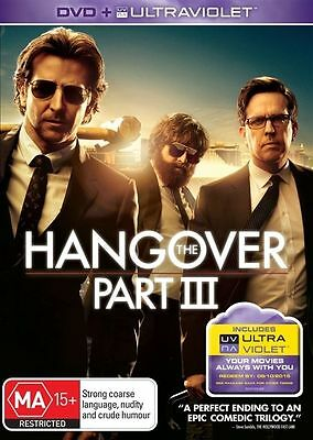 The Hangover : Part 3 (DVD, 2013) Regfion 4 Used Like NEW Condition Free Post