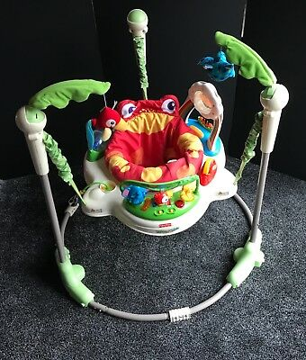 d8d4c85d3 FISHER-PRICE K6070 RAINFOREST Jumperoo bouncer baby toy activity ...