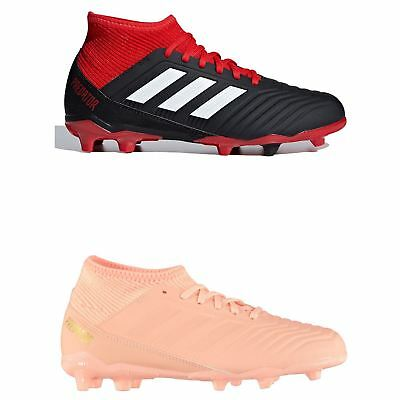 new style ff2b8 d9c09 ADIDAS PREDATOR 18.3 FG Firm Ground Football Boots Childs Soccer Shoes  Cleats - EUR 87,90   PicClick FR
