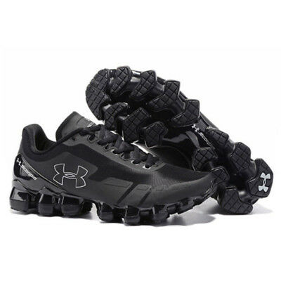 2019 Men's Under Armour Mens UA Scorpio Running Shoes All Black Leisure shoes