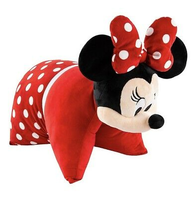 Minnie Mouse Pillow Pet Pal Plush Disney World Theme Parks NEW NWT Authentic
