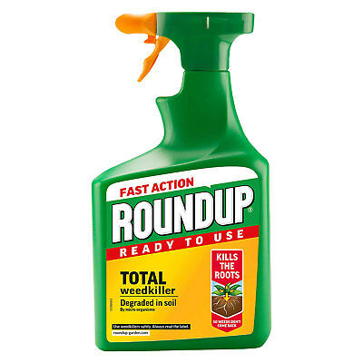 Roundup Ready To Use Total Weedkiller 1.2L 20% Extra Free Kills Weeds Roots
