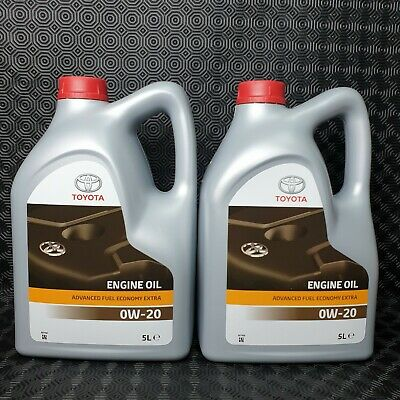 Genuine Toyota Lexus Engine Motor Oil 0W20 10Litres Fully Synthetic 08880-83265