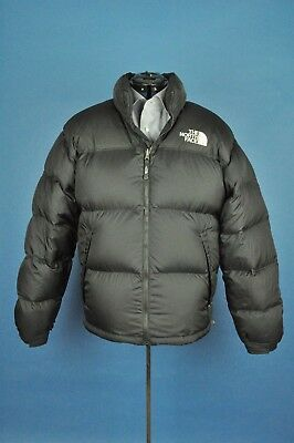 a3d33f2969 Vintage The North Face Black 700 Fill Nuptse Down Puffer Jacket Size Large