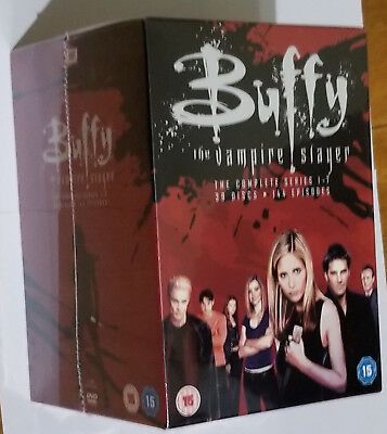 Buffy The Vampire Slayer Completo DVD Colección Caja Set Aniversario 20th
