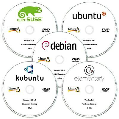 8 IN 1 Multiboot Linux Collection USB: Ubuntu Mint Zorin