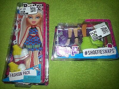 Bratz Fashion Pack Kisses XOXO Shoes Dress New
