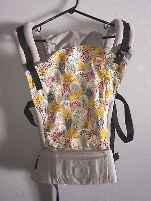 4585b2bb692 Tula Infant Baby Carrier Standard Ergonomic Gray Yellow Pink BARELY USED!