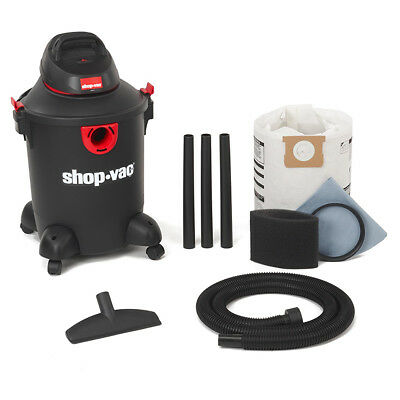 Shop-Vac 5985200 120-Volt 10 Gallon 4.0 Peak HP Black/Red Wet/Dry Vacuum