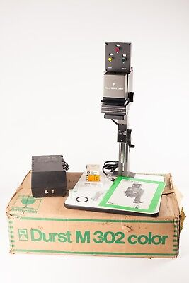 Durst M302 Colour.  35mm Enlarger with Dichroic Head and Transformer.  Boxed.