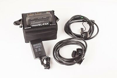 Bowens Travel-Pak  BW 7631. Exc. Condition, Good Battery, 2 x 3m Leads + Charger