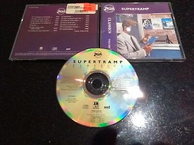 "Supertramp ""classics"" 1987 Cd (Best Of, Breakfast In America, Logical Song)"
