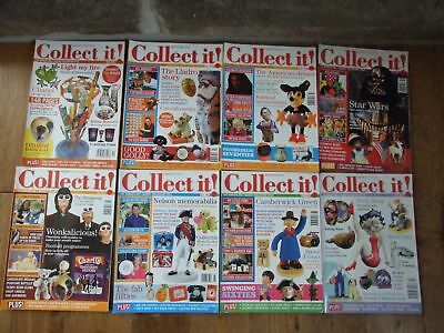 8 x issues Collect It Magazines 2005