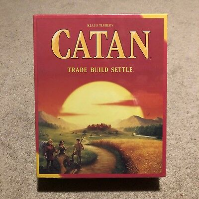New Sealed Catan 5th Edition Strategy Multiplayer Board Game Settlers of Catan
