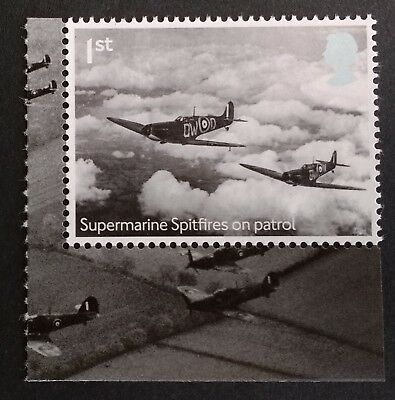 GB 2018 SPITFIRES 1st Class stamp mint/MNH (from DY25 RAF Centenary PSB)