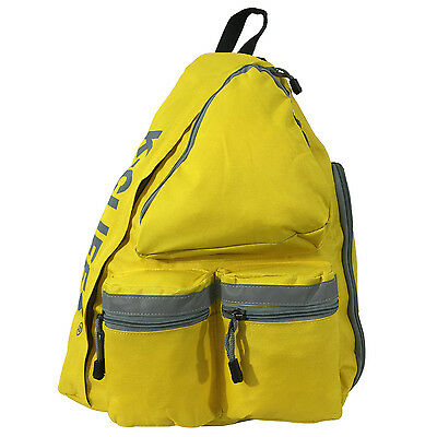 Safety Sling Backpack Bright Color Student Body Bag Daypack w/Reflective Stripe
