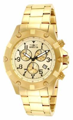 Invicta Men's 13619 'Specialty' Chronograph Gold-Tone Stainless Steel Watch