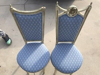 Vintage French Provincial Accent Chairs