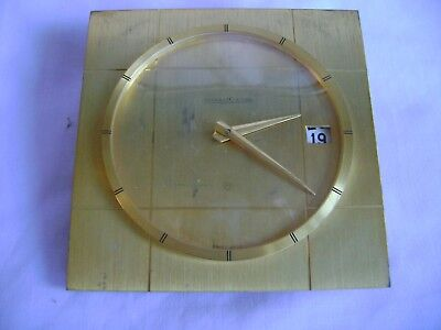 Vintage Jaeger-Lecoultre Desk / Date Clock In Good Working Order