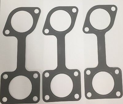 Set of 3 Aftermarket Series 60 & 50 Exhaust Manifold Gasket 23533983 23539193