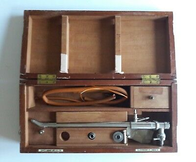 Vintage Thompson Prostatic Punch in Original Fitted Wooden Case