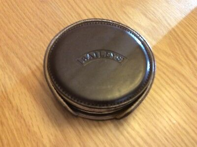 Bailey's Irish Cream Leather Coaster And Caddy Set
