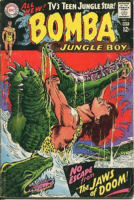 comic book: BOMBA #1 September-October 1967 good condition