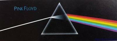 """PINK FLOYD  Rock flag/ Tapestry/ Fabric Poster """"Dark Side Of The Moon"""" Door NEW"""