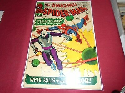THE AMAZING SPIDER-MAN #36 Silver Age Marvel Comics 1966 GD/GD-