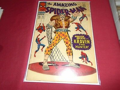 THE AMAZING SPIDER-MAN #47 Silver Age Marvel Comics 1967 GD+/VG-