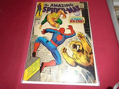 THE AMAZING SPIDER-MAN #57 Silver Age Marvel Comics 1968 VG