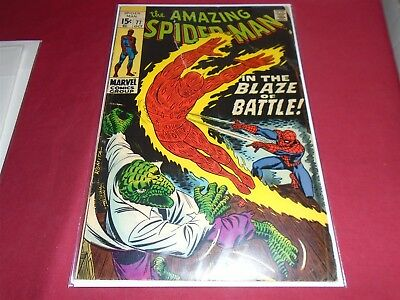THE AMAZING SPIDER-MAN #77 Silver Age Marvel Comics 1969 G/VG