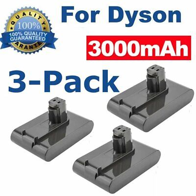 3X 22.2V 3.0Ah Vacuum Cleaner Battery for Dyson DC31 DC34 DC35 DC45 17083 917083