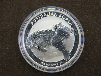 2012 1 oz The Australian Koala Silver Coin .999 $1 Dollar Australia