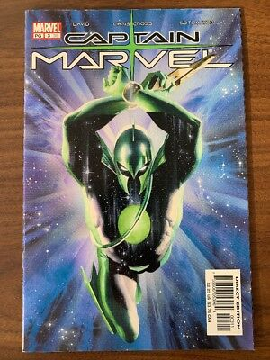 Captain Marvel #3 (vol. 6) 1st Print 1ST APP KREE UNIFORM VF MOVIE MAR-VELL