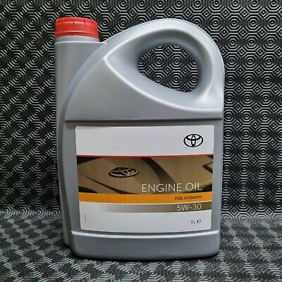 Genuine Toyota Lexus Engine Motor Oil 5W30 Semi Synthetic 5Litres