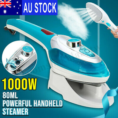 1000W Portable Handheld Electric Steam Iron Steamer Brush Travel Laundry Clothes